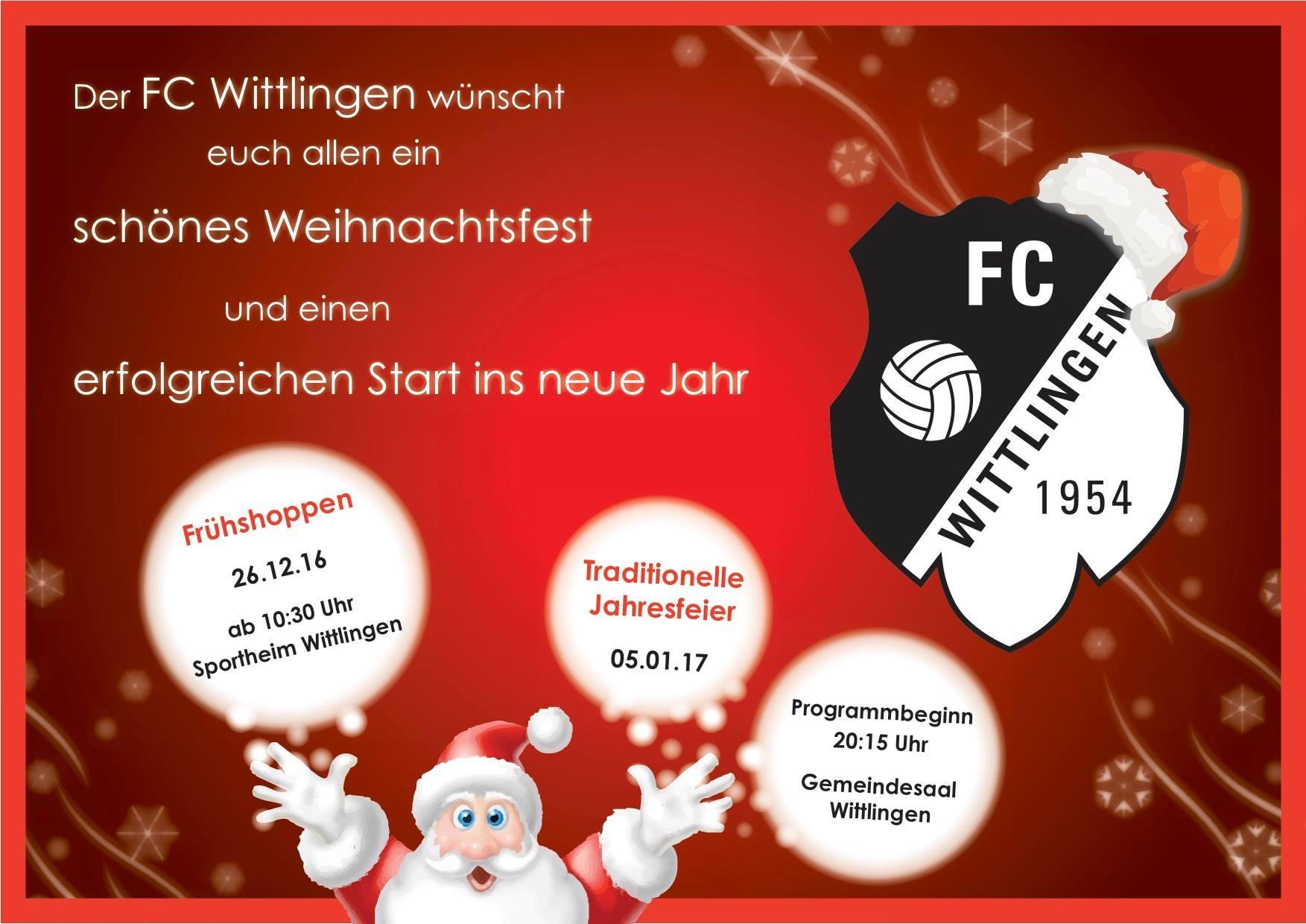 Weihnachtsgrüße Jpg.Weihnachtsgrüße Fc Wittlingen 1954 E V